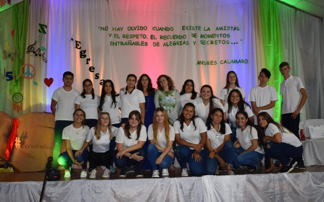 Colación 2018 Escuela Secundaria N° 20.