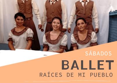 """Ballet """"Raíces de mi Pueblo"""""""