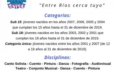 Juegos Culturales Entrerrianos Evita 2019