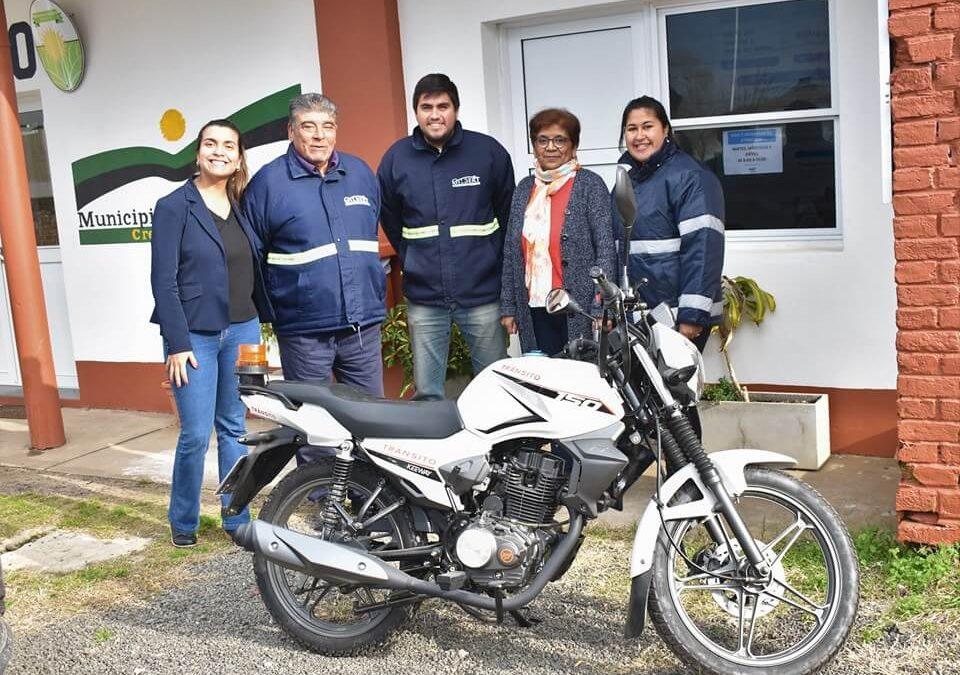 Adquisición de Moto Vehículo para Tránsito