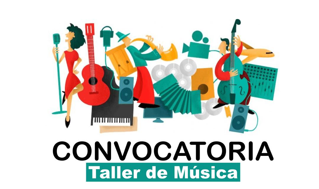 Convocatoria Tallerista de Música