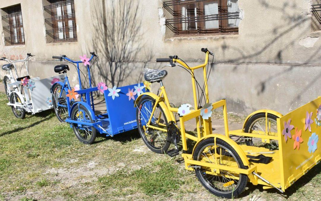Adquisición y entrega de Triciclos Adaptados