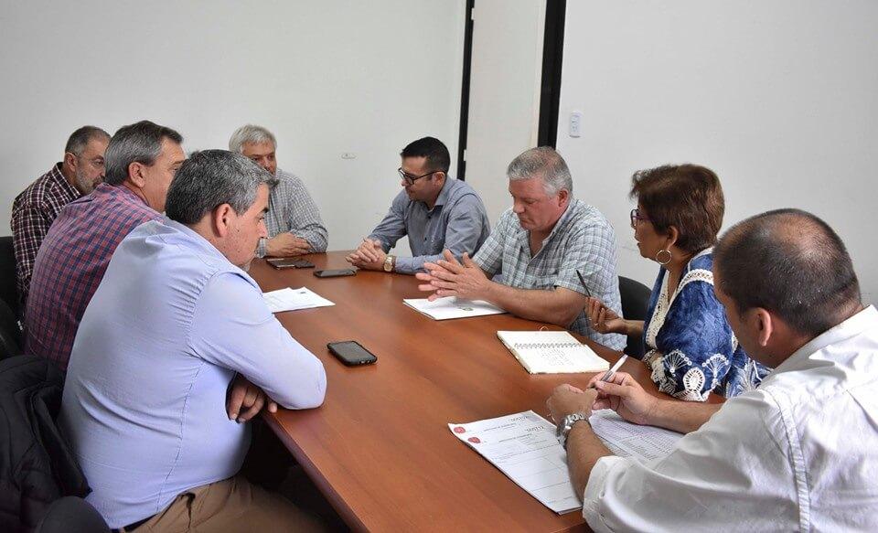 Reunión de intendentes con la Dirección Provincial de Transporte
