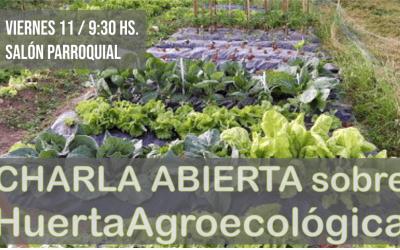 Charla abierta sobre agroecología y entrega de semillas del PROHUERTA