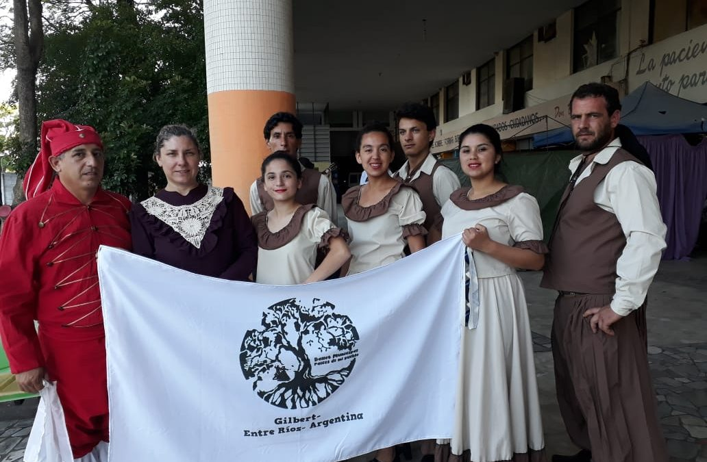 """El Ballet """"Raices de mi Pueblo"""" participó de un certamen en Montevideo"""