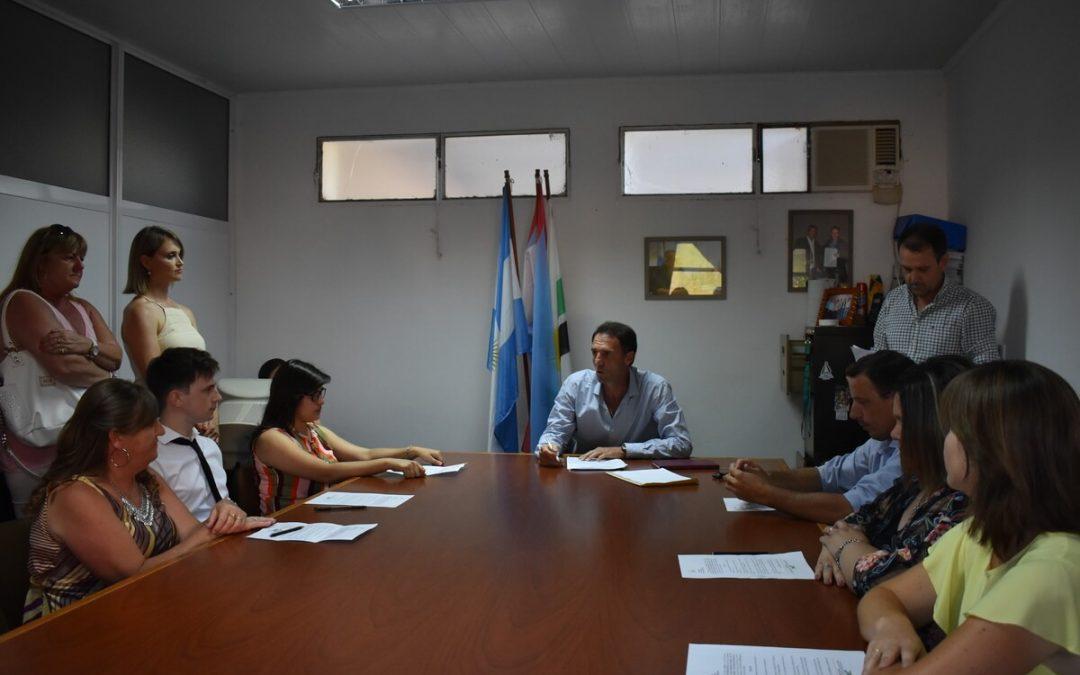 """Acto protocolar """"nuevos concejales del hcd"""" del Municipio de Gilbert"""