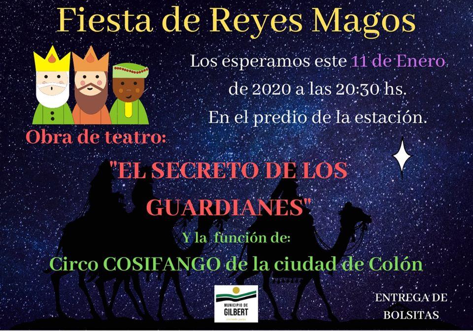 Fiesta de Reyes Magos – Agenda Cultural