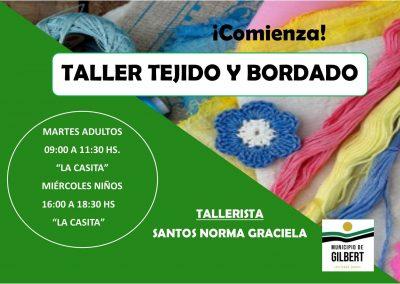 Taller de Tejido & Bordado