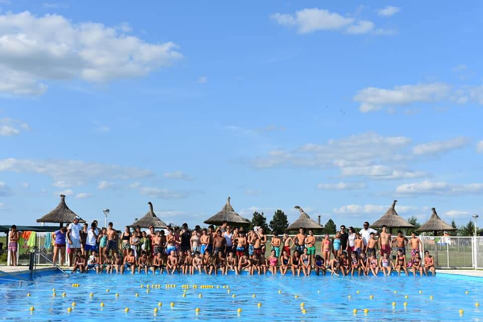 3° Encuentro Regional de Natación en Aldea San Antonio