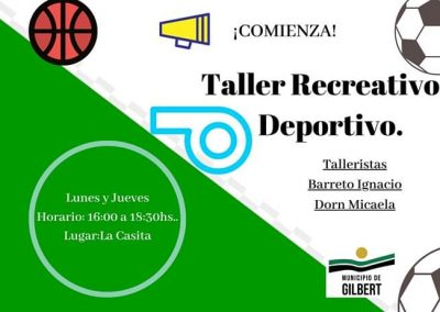Taller Recreativo & Deportivo