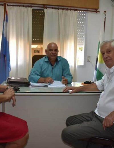 Visita del Senador Jorge Maradey (1)