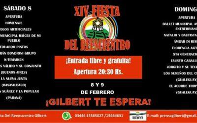 Cronograma Fiesta del Reencuentro