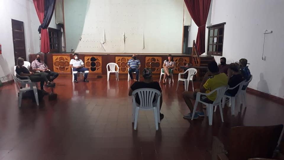El COES local se reunió con el fin de tratar la temática de los adolescentes y jóvenes en tiempos de COVID 19.