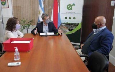 Reunió con el Ministro de Planeamiento Marcelo Richard