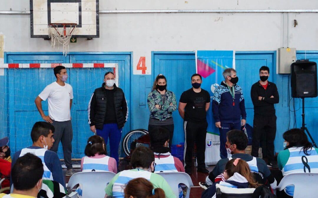 Encuentro Deportivo-Recreativo Inclusivo Departamental para personas con discapacidad